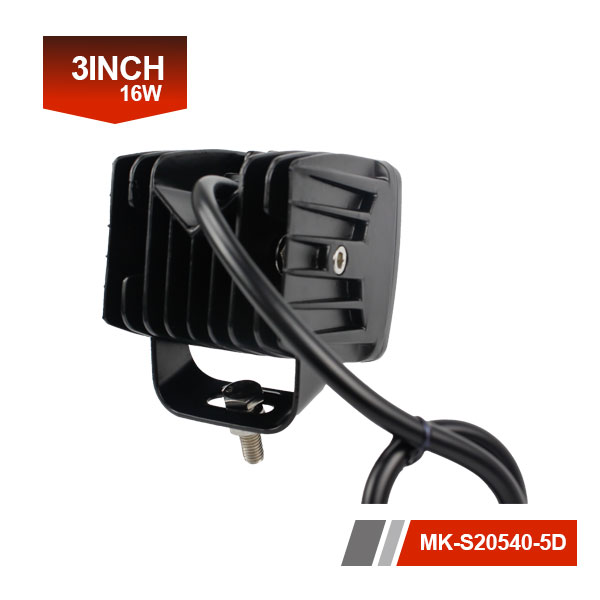 3inch 5D car accessories lights