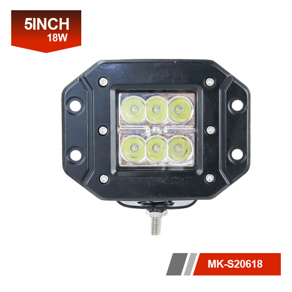 5inch 18w flood car lights