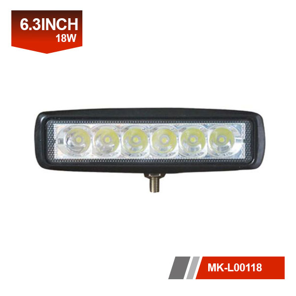 6 inch 18W mini light bar