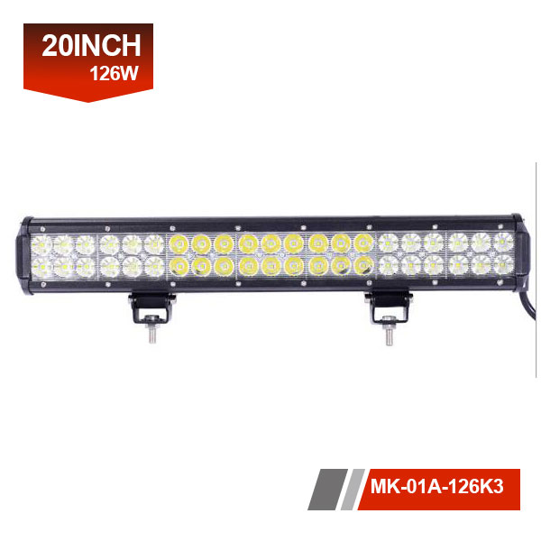 20 inch 126w led driving light bar