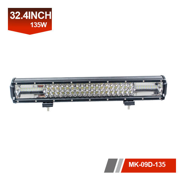 33 inch 135w 24 volt led light bar