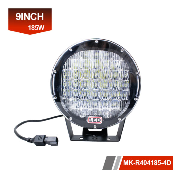 9inch 185W 4D led work lamp