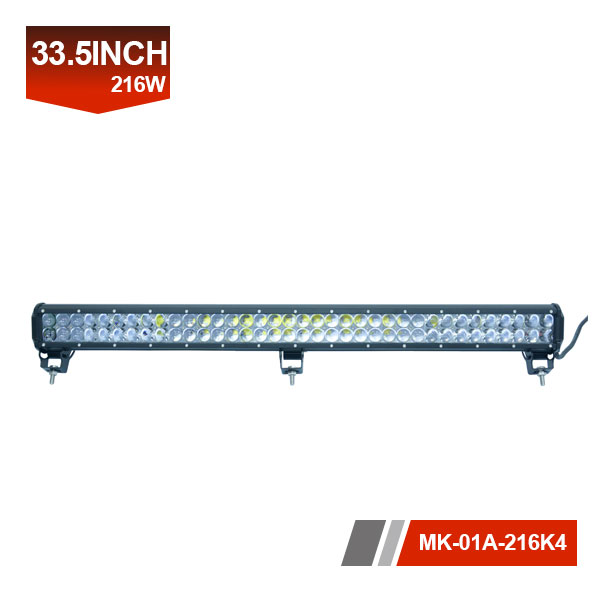 33inch 216W 4D LED Light Bar,cheap bar