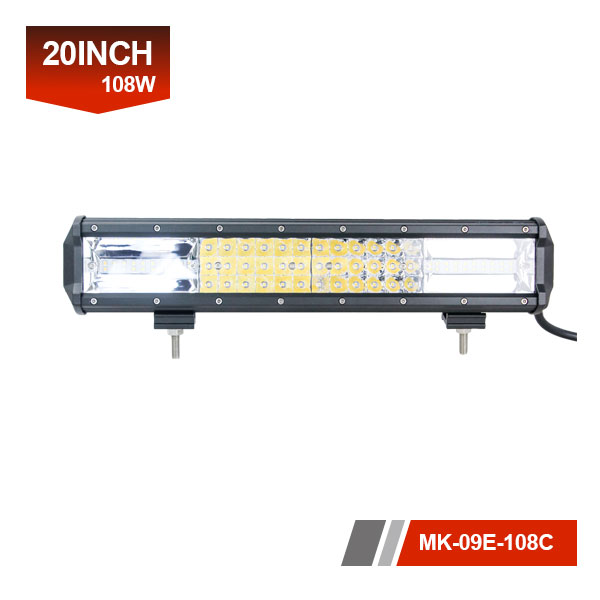 20inch 108W OSRAM LED triplex light bar