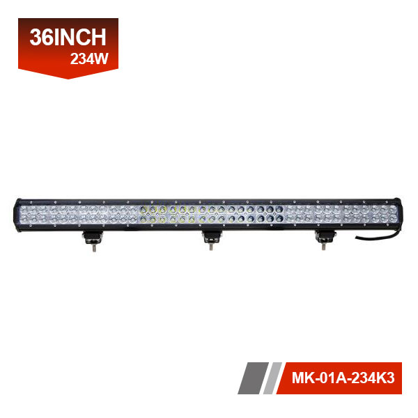36inch 234W 3D led offroad light bar