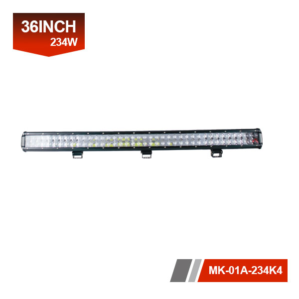 36inch 234W 4D Dual Row LED OffRoad Light Bar