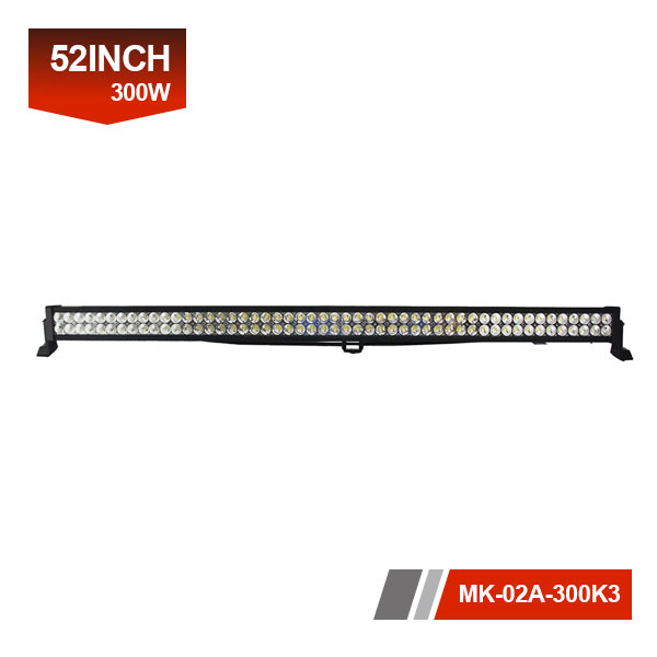 52inch 300W 3D led light bar offroad
