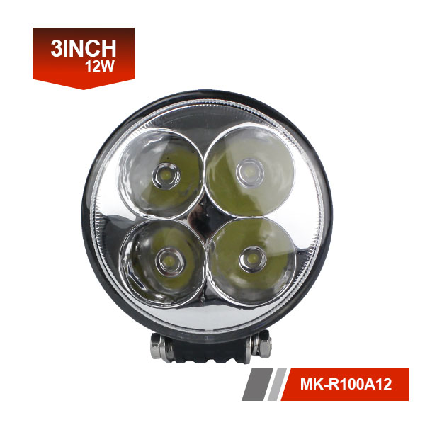 3inch 12W 3D Led Work Light