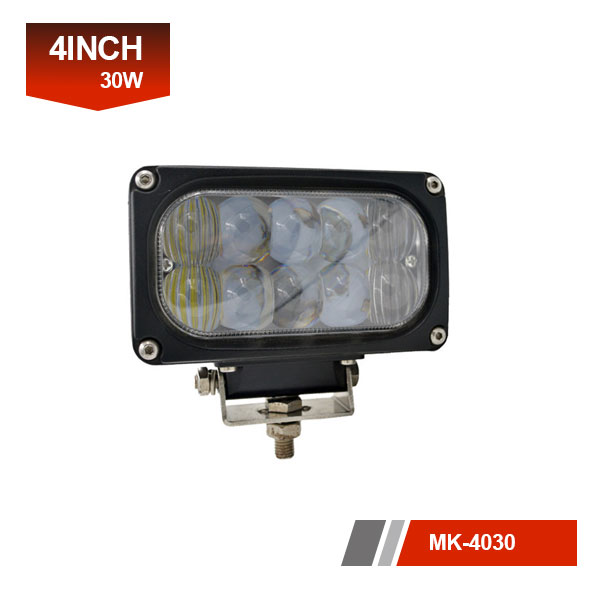 4inch 30W 5D led work light