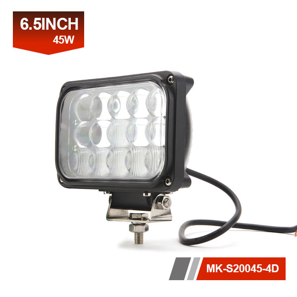 7inch 45W 4D led work light