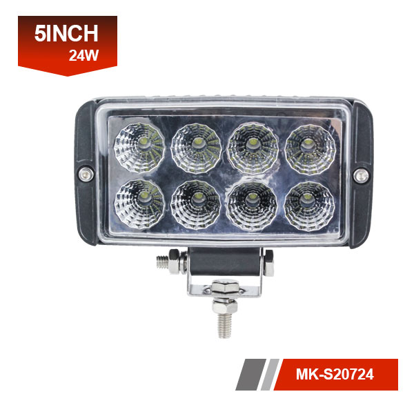 5inch 24W 3D led work light