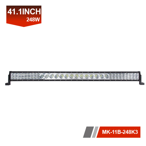 41inch 248W 3D promotion led light bar