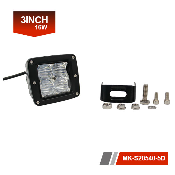 3 inch 16W 5D Led Work Light