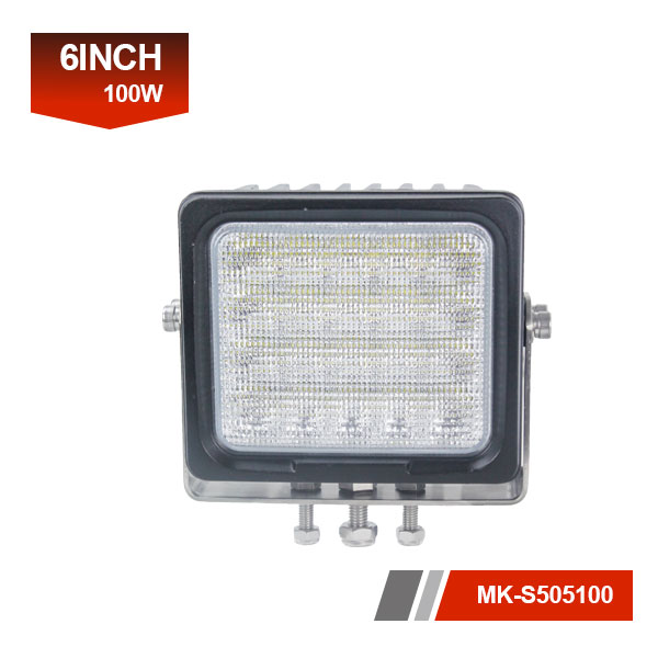 6inch 100W 3D led work light
