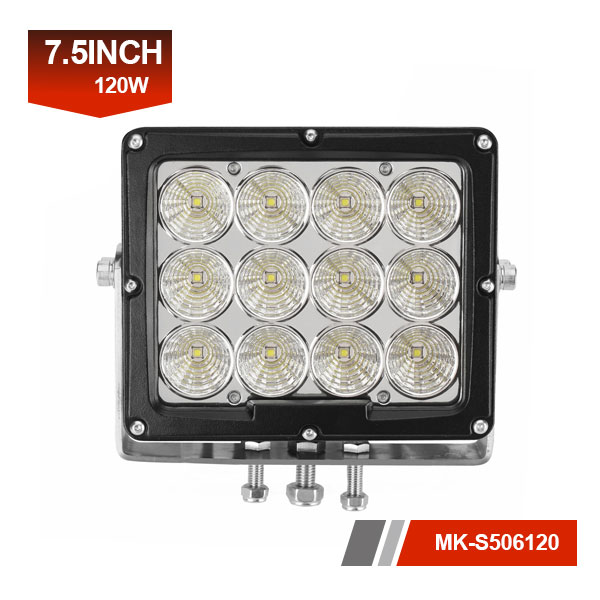 8inch 120W 3D led work light