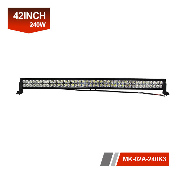 42inch 240W 3D Dual LED Light Bar