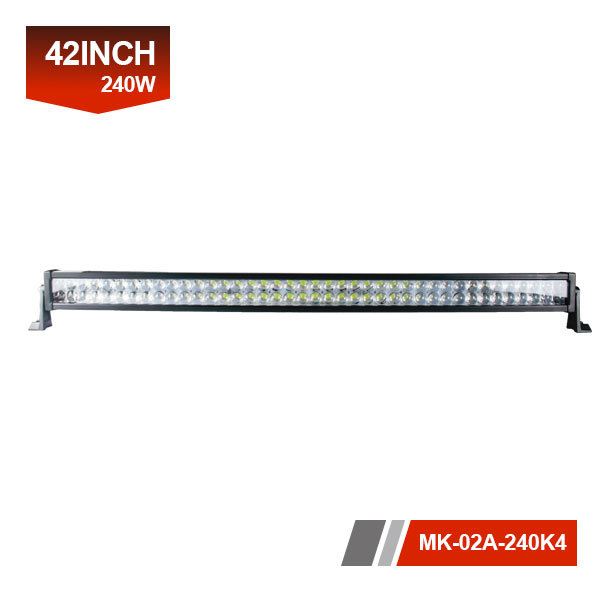 42inch 240W 4D Dual LED Light Bar