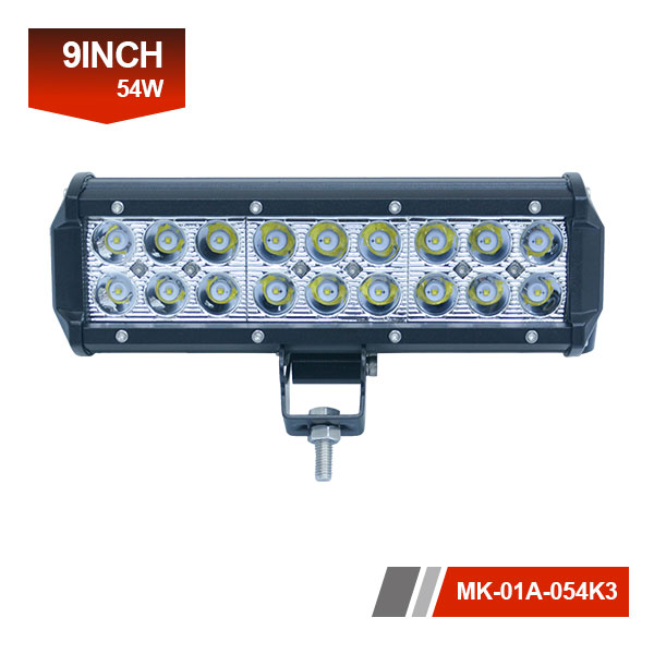 9 inch 54w CREE led light bar
