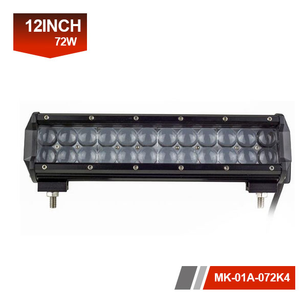 12 inch 72w 4D CREE led light bar