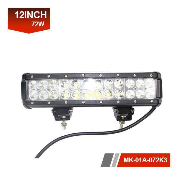 12 inch 72w CREE led light bar
