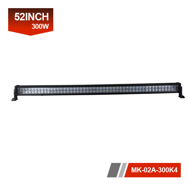 52inch 300W 4D Dual LED Light Bar
