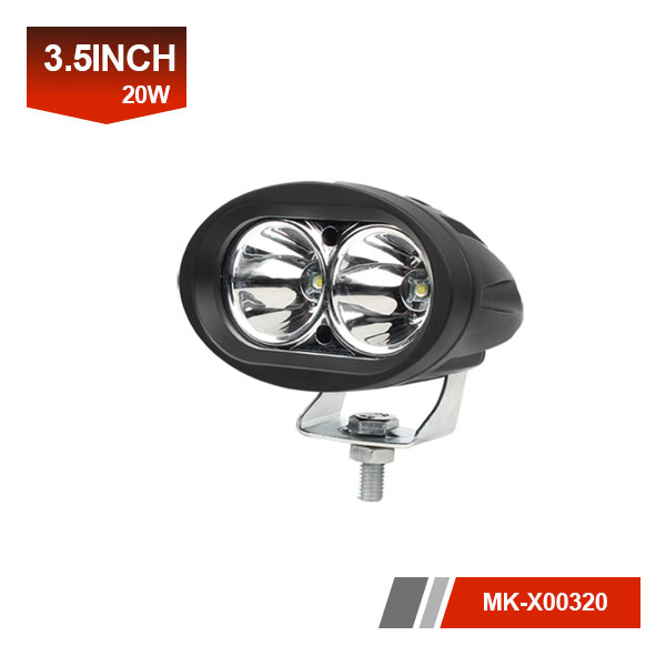 4 inch 20W 3D led work light