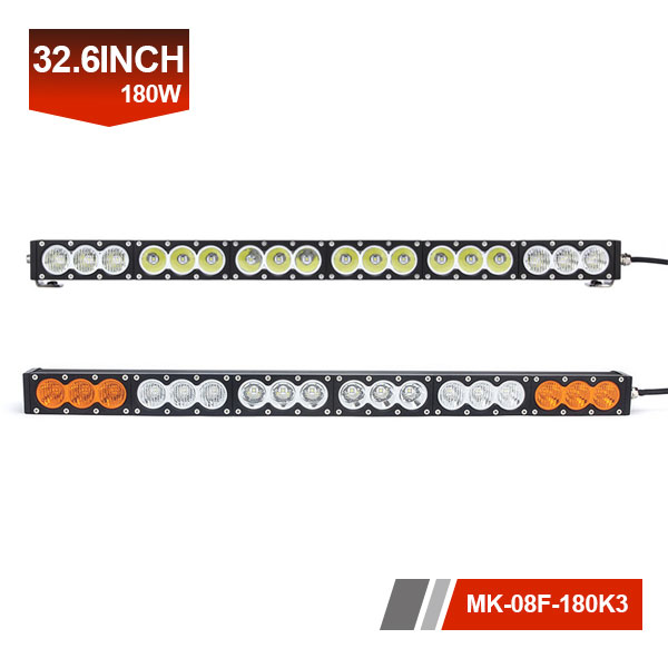 32inch 180W 3D Single Row LED Light Bar