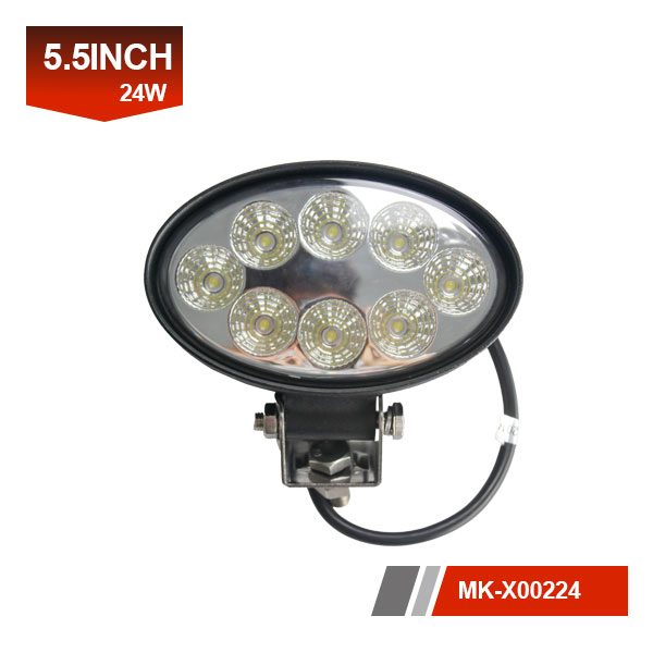 6 inch 24W 3D led work light