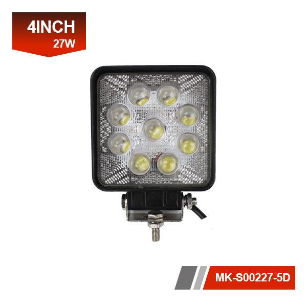 4 inch 27W 5D led work light