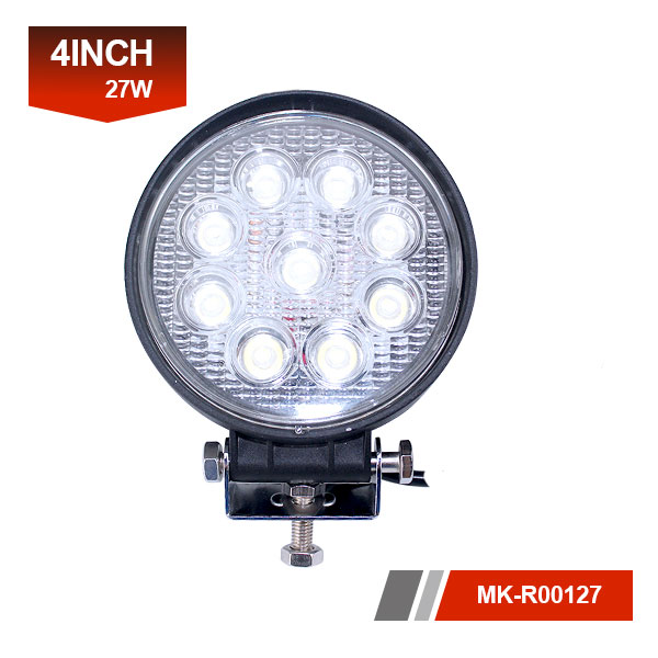 4 inch 27W 3D led work light