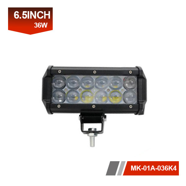 7 inch 36W 4D led light bar