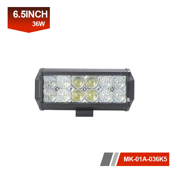 7 inch 36W 5D led ligth bar