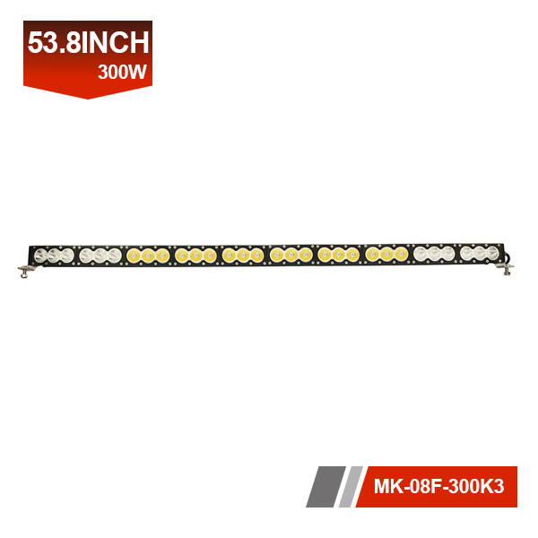 53inch 300W 3D Single Row LED Light Bar