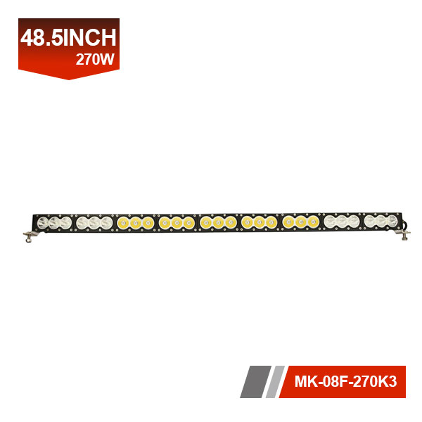 48inch 270W 3D Single Row LED Light Bar
