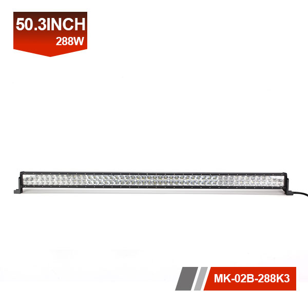 50inch 288W 3D Dual Row LED Light Bar