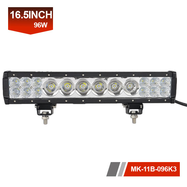 16inch 96W 3D hybrid led light bar