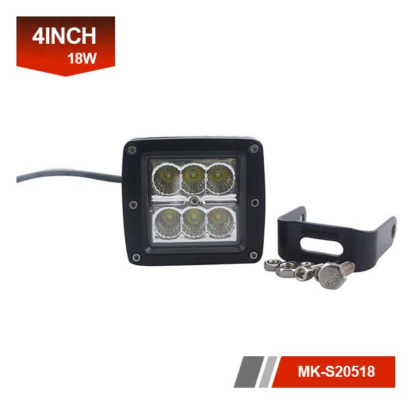 4 inch 18W waterproof led light