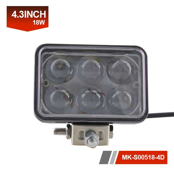 4 inch 18W 4D Led Work Light