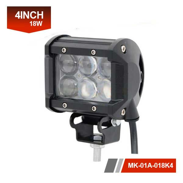 4 inch 18W 4D Led Light Bar
