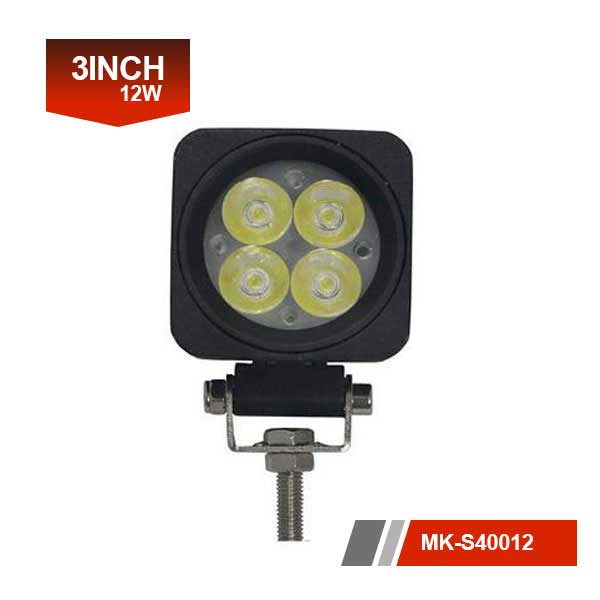 3 inch 12W 3D Led Work Light