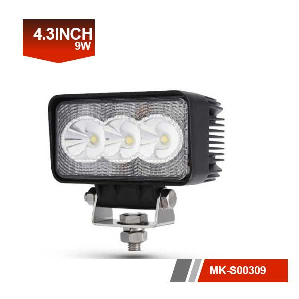 4inch 9W 3D Led Work Light