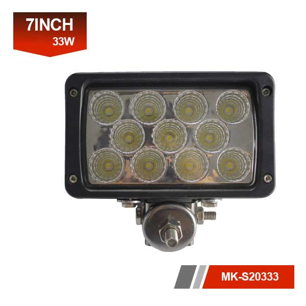 7 inch 33w led work light