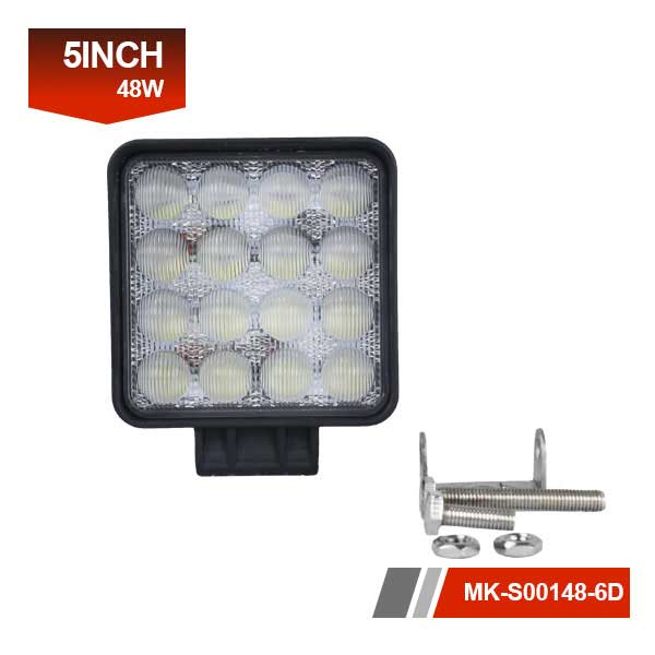 5 inch 6D 48w led working light