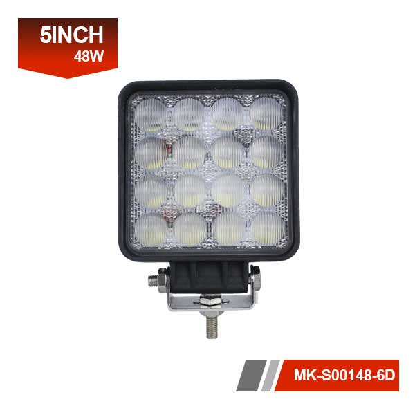 5 inch 6D 48w led work light