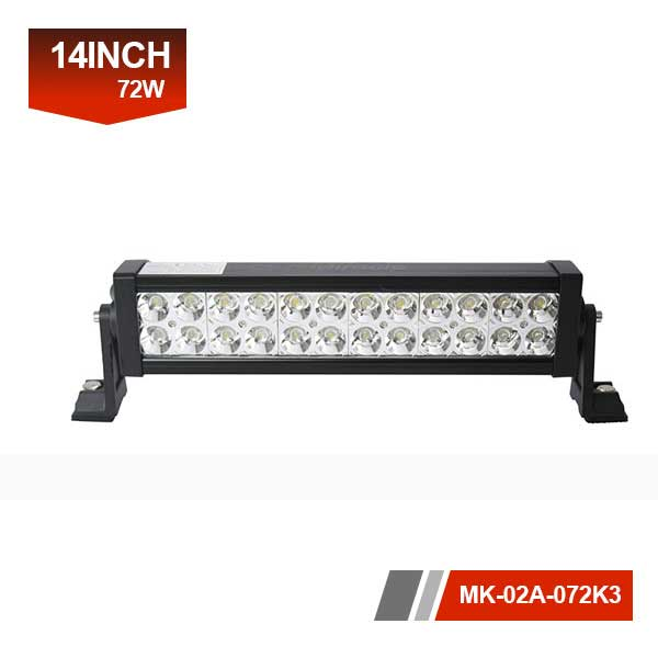 14 inch 72w led car light bar