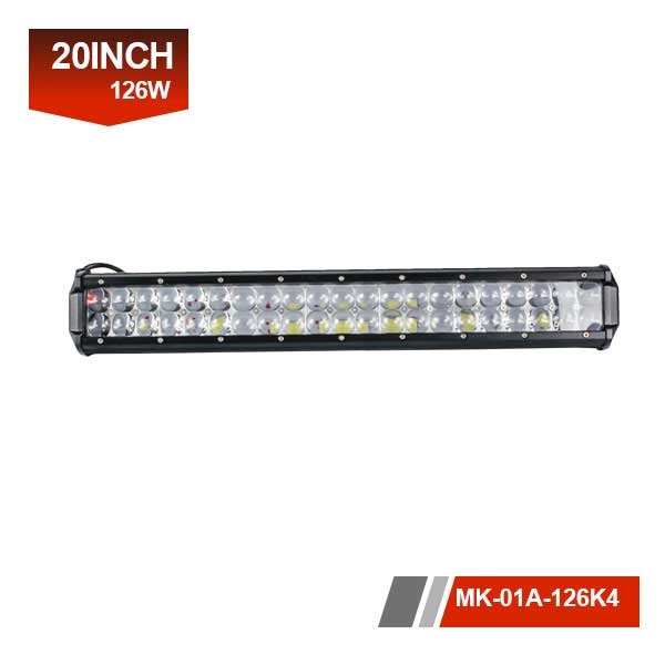 20 inch 126w 4D Marine LED Lighting