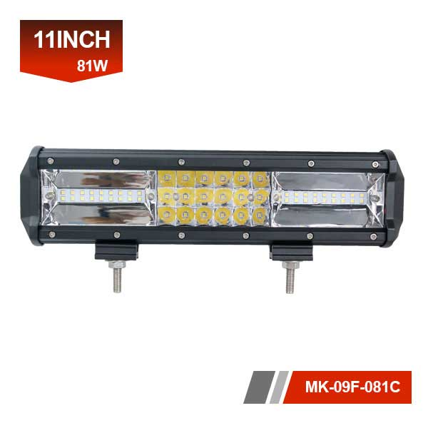 11 inch 81w off road lights bar