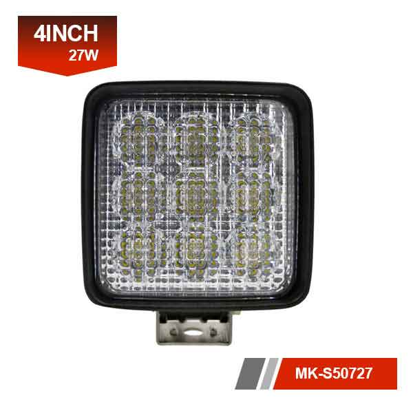 4inch 27W square led work light