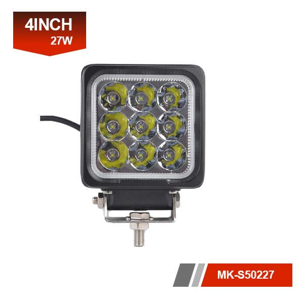 4inch 27W 3D led work light