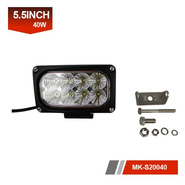 6inch 40W 3D led work light